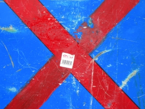 red cross on blue [16/24] / 2011 / océ lightjet print / 40x30