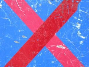 red cross on blue [6/24] / 2011 / océ lightjet print / 40x30