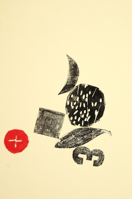 without title / 2014 / lino print / 42×29,7