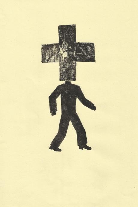 human conditions series / 2014/ lino print / 21x30