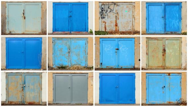 garage blues (work in progress) / 2015 / digital photography